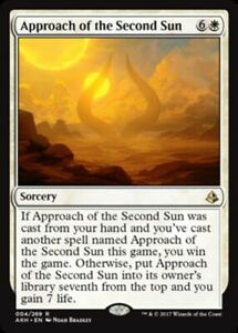 x1 Approach of the Second Sun MTG Amonkhet R M/NM, English