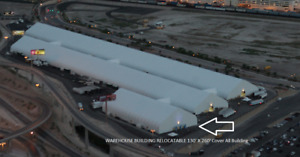 AIRCRAFT HANGER 130' X 260' Cover All Building