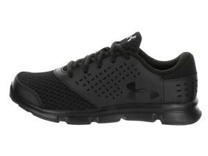 Under Armour Unisex School Kids Trainer Micro G Rave Training Shoes Black New
