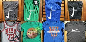 NIKE BOYS SIZE 4T ~ Dri-Fit SHORTS ~ T-SHIRTS ~ SUMMER 8pc ~ NEW ~$176 AUTHENTIC