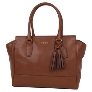 COACH fringe handbags for women leather