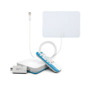 AirTV 4K Ultra HD Media Streamer with Voice Remote and ANTOP TV Antenna Bundle
