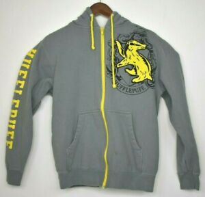 Universal Studios Wizarding World of Harry Potter Hufflepuff Pullover Hoodie EUC