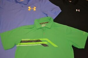 Nike Under Armour Boys Golf Polo Shirts (Lot of 3) Size XL Youth GUC