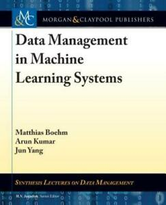 Data Management in Machine Learning Systems by Matthias Boehm: New