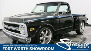 1969 C-10 Stepside classic chevy truck c-10 350 v8 auto air fuel injection short bed