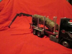 Conrad Volvo 470  3-Axle Log Truck with  Loading Crane 150 LOOSE