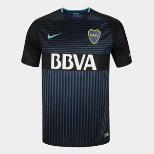 Nike Boca Juniors 2017 Authentic Stadium Jersey men Dri Fit Argentina shirt team