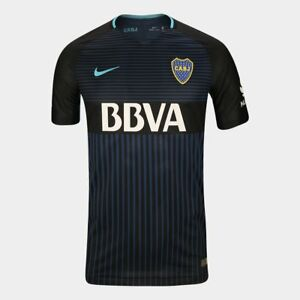 Nike Boca Juniors 2017 Authentic Match Player Jersey men Dri Fit Argentina shirt