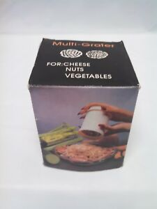Kitchen Multi Grater for Nuts Cheese Vegetables New in Box