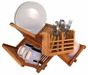 Flatware Cutlery and Utensil Drying Caddy fits Totally Bamboo Dish Drying Racks
