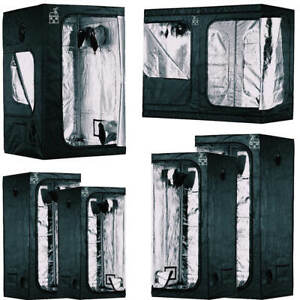 *PLANT HOUSE* UPGRADED Grow Tents Hydroponic Plant Indoor Smallamp;Big 6 SIZES