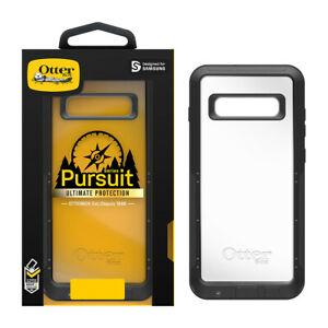 Samsung Galaxy S10+ Otterbox Pursuit Series Case BlackClear BRAND NEW OEM!