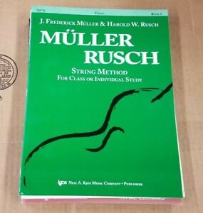 Muller Rusch String Method for Class or Individual Study 51VN Kjos