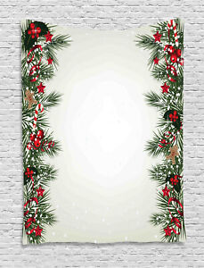Noel Theme Tapestry Wall Hanging Form Decoration for Room 2 Sizes
