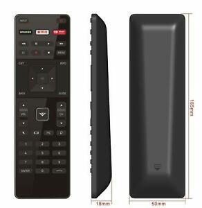 New Remote XRT122 Replacement for Vizio Smart TV with AmazonNetflixiHeart Key
