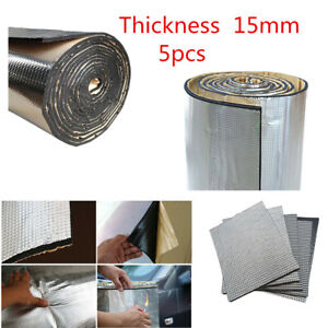 Universal 10Pcs 30*50cm Thickness 15mm Car Sound Deadener Road Noise Dampener