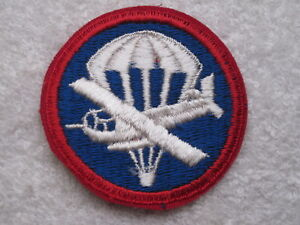 1950'S - 60'S US ARMY ENLISTED PERSONNEL PARAGLIDER PATCH 100% AUTHENTIC