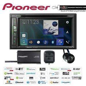Pioneer AVIC-W6500NEX with SiriusXM Tuner and Bullet Style Backup Camera