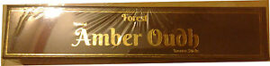 FOREST FRAGRANCE: NATURAL AMBER OUDH INCENSE STICKS: LONG LENGTH 11quot;
