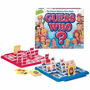 Guess Board Games Who Toys &amp