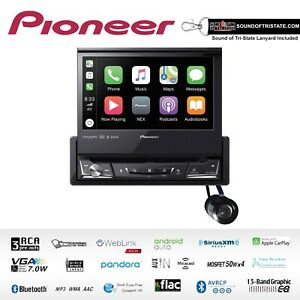 Pioneer AVH-3500NEX Single Din Flip Out DVD Receiver with Bullet Style Camera