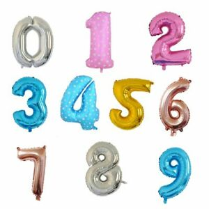 40quot; Foil Number Balloon Birthday Party Decorations Kids Party
