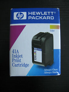 New Genuine HP 51641A  Color Ink DeskJet 600 series  exp 1999!