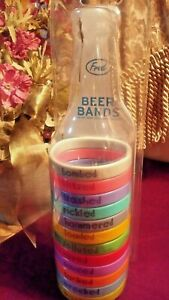 NEW Fred Beer Bands Drink Markers Set of 12