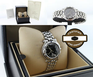 Chopard Happy Sport Round Fish Stainless Steel Lady's 32mm Watch with BoxPapers