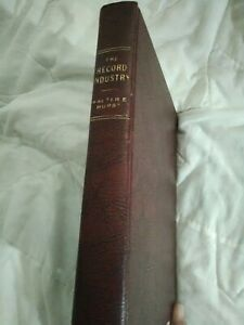 1961 vintage antique The Record Industry by Walter E. Hurst. SIGNED. Music. Pop