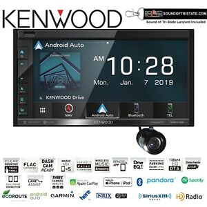 Kenwood DNR476S Navigation Receiver with Bullet Style Backup Camera