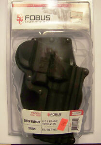FOBUS: SW4 Standard Paddle Holster, SMITH & WESSON and TAURUS, Right Hand