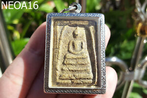 Phra Somdej Lp Toh Wat Rakang Pim THICK Old Thai Buddha Amulet The Best Holy