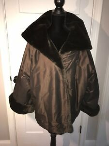 Women's Designer Zoran Clutch Coat SO SOFT