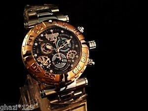Invicta Men's Reserve Subaqua Noma Swiss Chrono Limited Edition GP Bezel Watch!