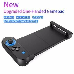 Mini Portable Wireless Bluetooth Smart Phone Game Controller One-handed Gamepad