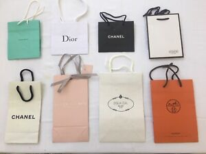 Designer Store Paper Gift Bags EIGHT (8) NEW