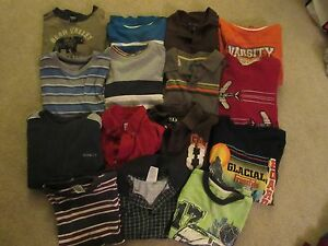 Boys Youth Clothes Lot Size 7