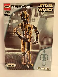 Lego STAR WARS # 8007 C-3PO  with Poster