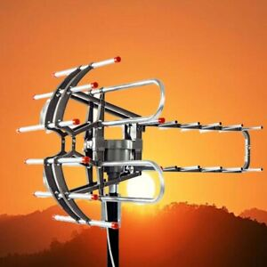 200Miles Long Range HD Digital Antenna TV HDTV Outdoor Antenna  4K 1080P UHFVHF