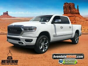 2019 Ram 1500 Limited 2019 Ram 1500 Limited 21 Miles Ivory 3-Coat Crew Cab Pickup Regular Unleaded V-8