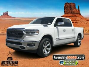 2019 Ram 1500 Limited 2019 Ram 1500 Limited 11 Miles Ivory 3-Coat Crew Cab Pickup Regular Unleaded V-8
