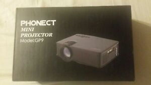 PHONECT Mini Portable Projector 2400 Lumens LED Full HD Video Home Theater