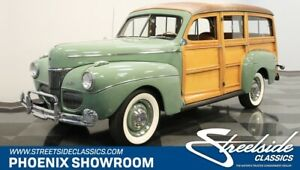 1941 Other Woody Wagon TOP-NOTCH RESTO ORIGINAL BILL OF SALE LOW # OF OWNERS COLLECTOR-GRADE CLASSIC