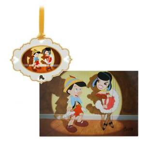Disney Pinocchio Artist Series #1 Sketchbook Ornament Lithograph Set LTD Edition