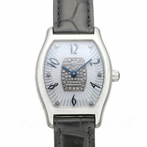 ULYSSE NARDIN Michelangelo 100-42 Ladies Watch 18KWG Automatic From Japan Used