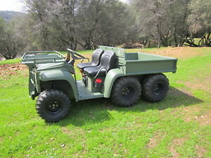 John Deere ARMY Military 4X4 M-Gator 6x4 Diesel ATV ONLY 262 HOURS!