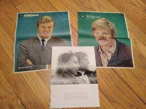 ROBERT REDFORD:Small Collection Of Clippings/Late 60s/Handbill