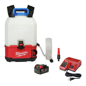Milwaukee 2820-21WS M18 SWITCH TANK 4-Gal. Backpack Water Supply Kit New